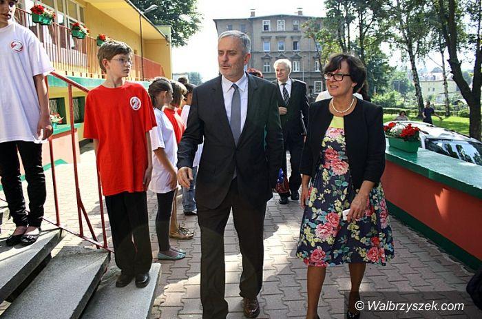 Wałbrzych: Wałbrzyskie uroczystości z udziałem Minister Edukacji Narodowej