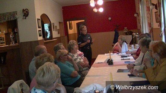 REGION, Mieroszów: Spotkanie wałbrzyskiej policji z seniorami gminy Mieroszów