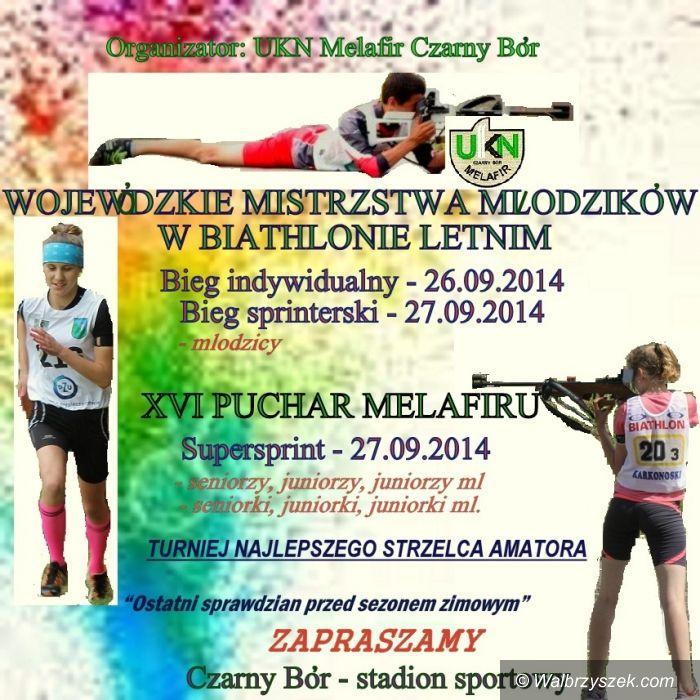 Czarny Bór: Puchar Melafiru w biathlonie letnim odbędzie się w Czarnym Borze