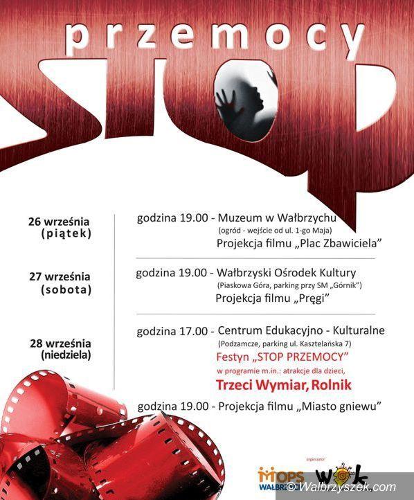 Wałbrzych: Stop przemocy