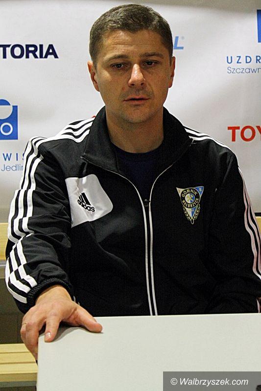 Wałbrzych: Trener Cyrak krytycznie ocenia mecz z Wisłą