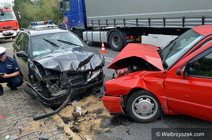 REGION, Jedlina Zdrój: Wypadek w Jedlinie–Zdroju