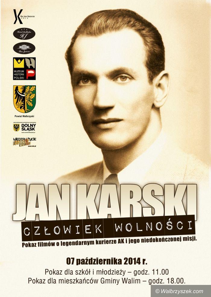 Walim: Jan Karski – człowiek wolności