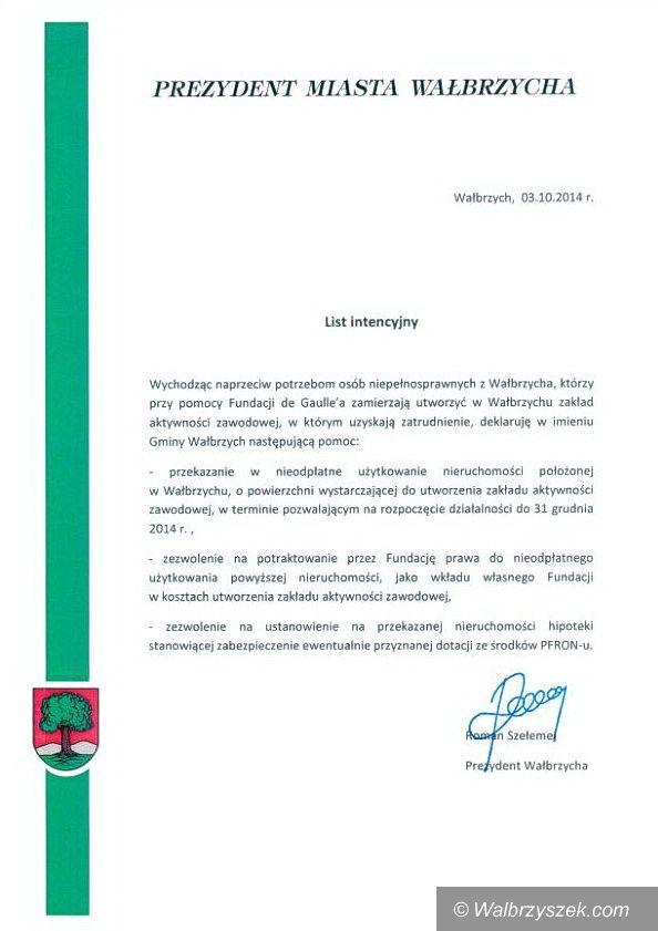 Wałbrzych: Zakład Aktywności Zawodowej w Wałbrzychu jednak ruszy