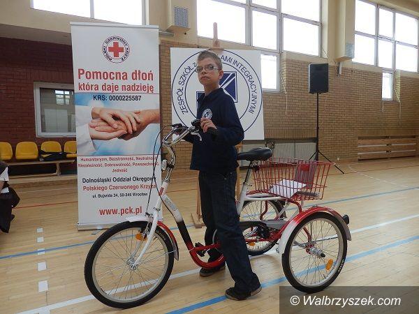 Wałbrzych: Nowy rower dla ZSOI