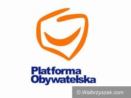 Wałbrzych/powiat wałbrzyski: Platforma Obywatelska przedstawiła swoich kandydatów