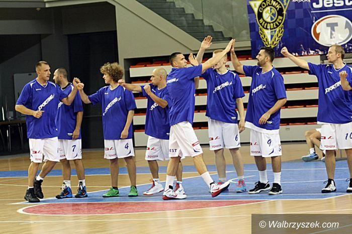 Wałbrzych: II liga koszykówki: Z Muszkieterami na wyjeździe