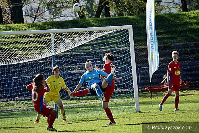 Wałbrzych: I liga piłki nożnej kobiet: AZS na topie
