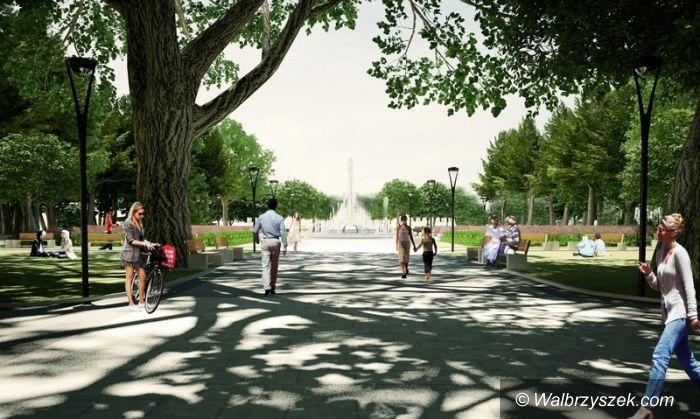 Region: Świdnica: Park Centralny od nowa
