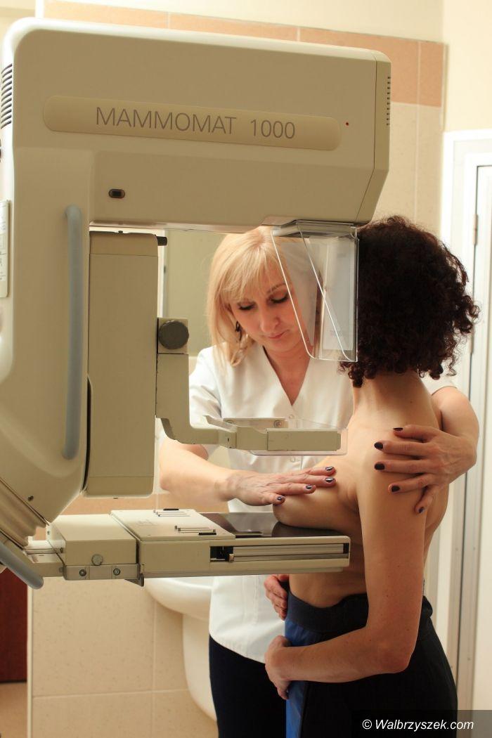 powiat wałbrzyski: Okazja do zbadania w mammobusie