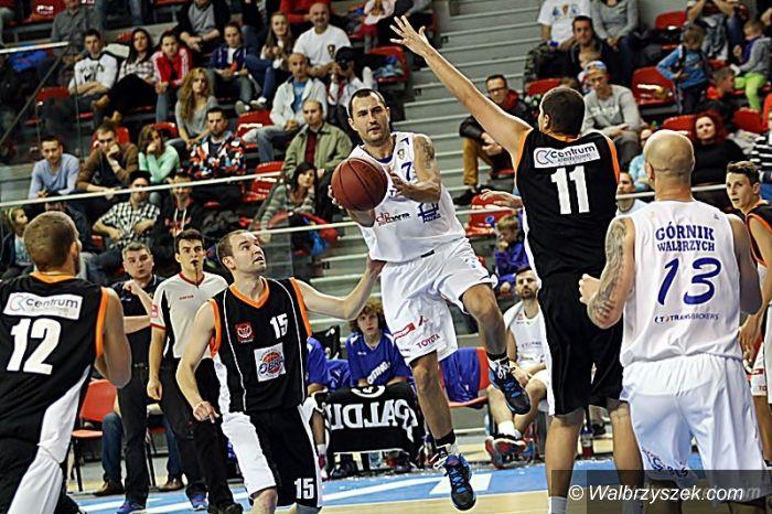 Wałbrzych: II liga koszykówki: Wygrana z Obrą