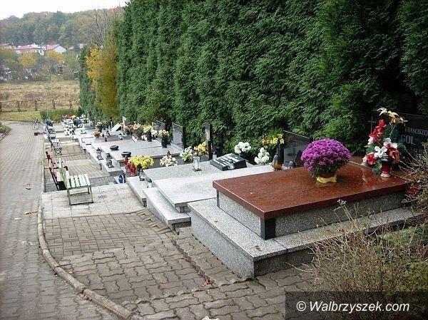 Wałbrzych: Wałbrzyskie cmentarze komunalne w systemie grobonet