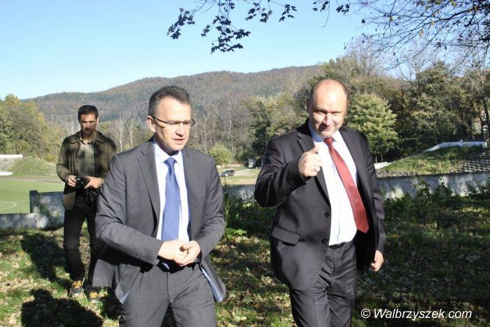 Wałbrzych: Wiceminister mówił o dofinasowaniu