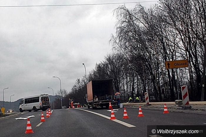 Wałbrzych: Ulica Sikorskiego już przejezdna, kończy się remont wiaduktu