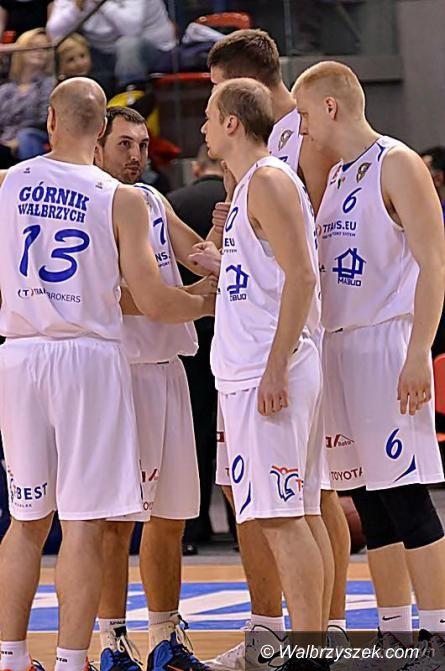 Kalisz: II liga koszykówki: Pierwsza porażka wałbrzyszan