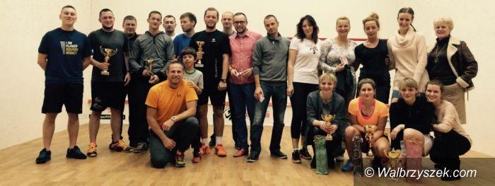 Wałbrzych: Kolejne udane zawody w squashu