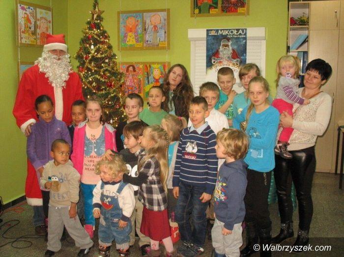 Wałbrzych: Wizyta Świętego Mikołaja w OSK