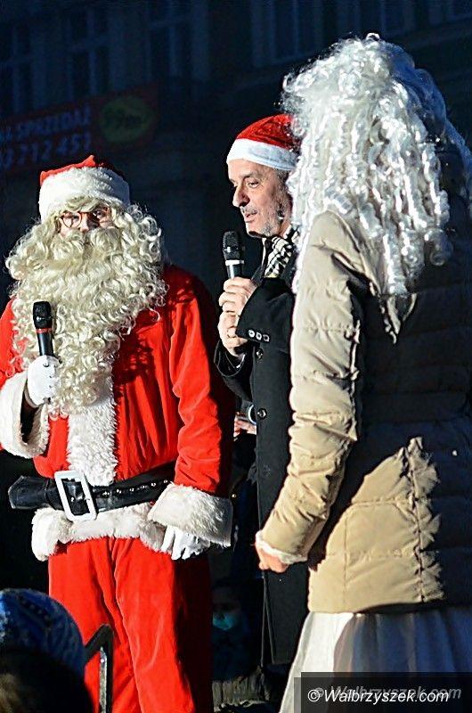 Wałbrzych: Mikołaj na wałbrzyskim Rynku