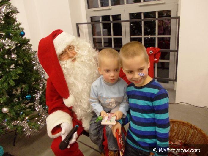 REGION, Boguszów-Gorce: Święty Mikołaj odwiedził Centrum Witold