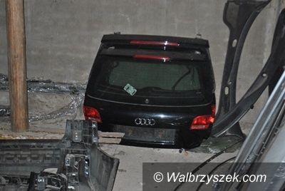 Wałbrzych/Region: Wałbrzyscy policjanci zlikwidowali dziuplę samochodową