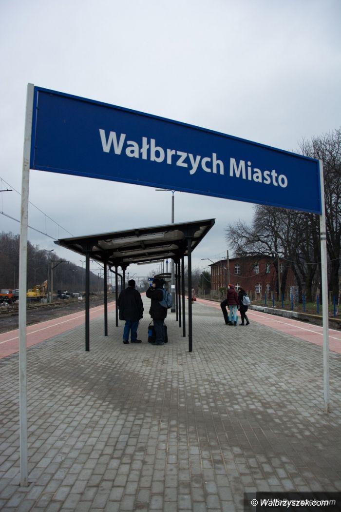 Wałbrzych: Odnowiony Dworzec Miasto
