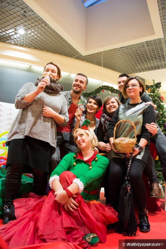 Wałbrzych: Świąteczna wizyta Doroty Gardias w Tesco