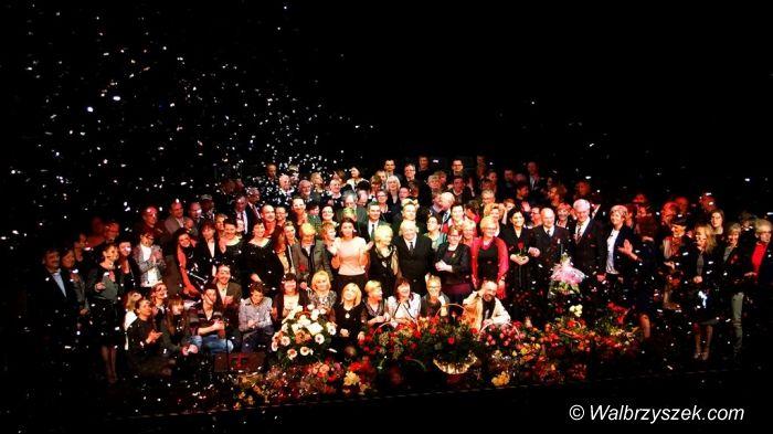 Wałbrzych: Teatr Dramatyczny obchodził Złoty Jubileusz