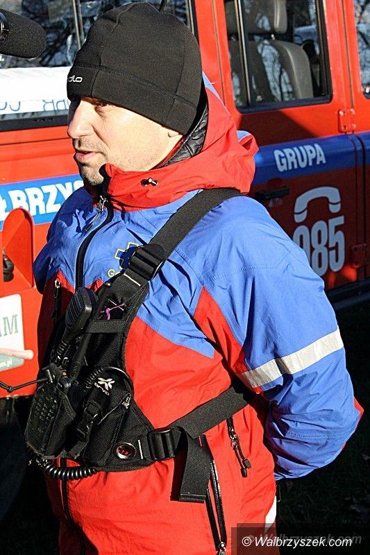 Wałbrzych: Ćwiczenia służb mundurowych w Książu