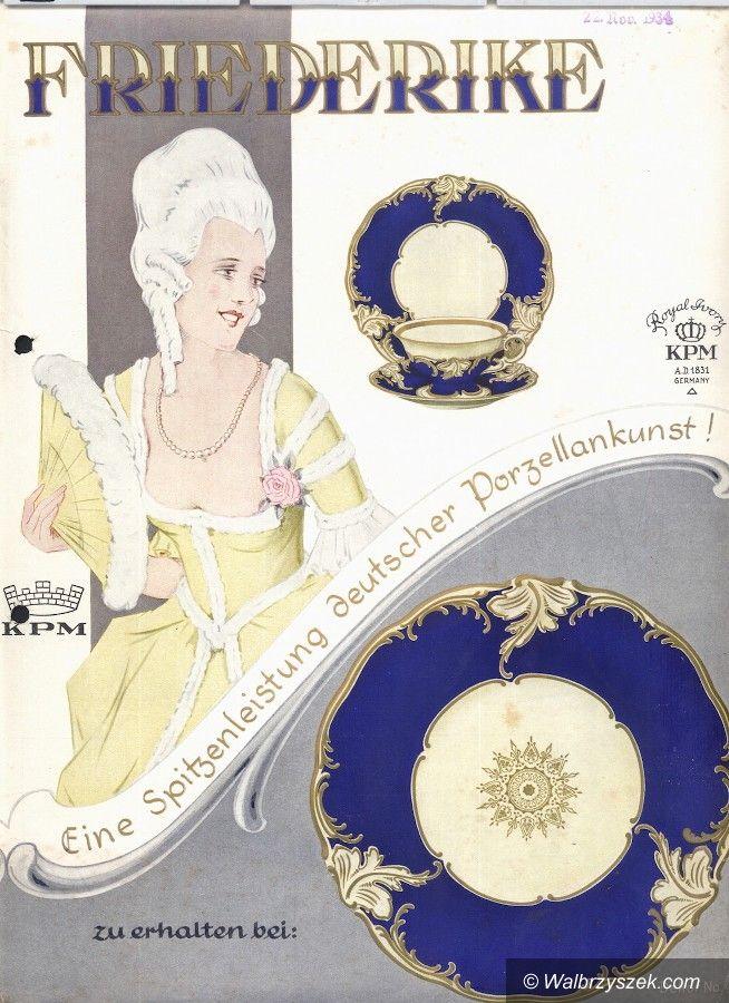 Wałbrzych: Kultowa wałbrzyska porcelana ma już 80 lat!