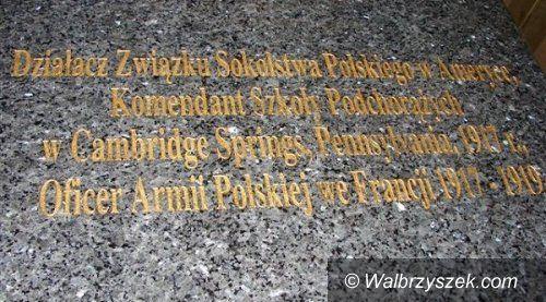 REGION, Kamienna Góra: Odsłonią tablicę poświęconą Józefowi Sierocińskiemu