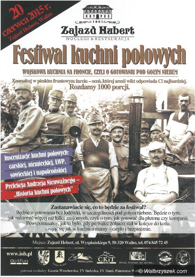 REGION, Walim: Festiwal Kuchni Polowych po raz drugi w Walimiu