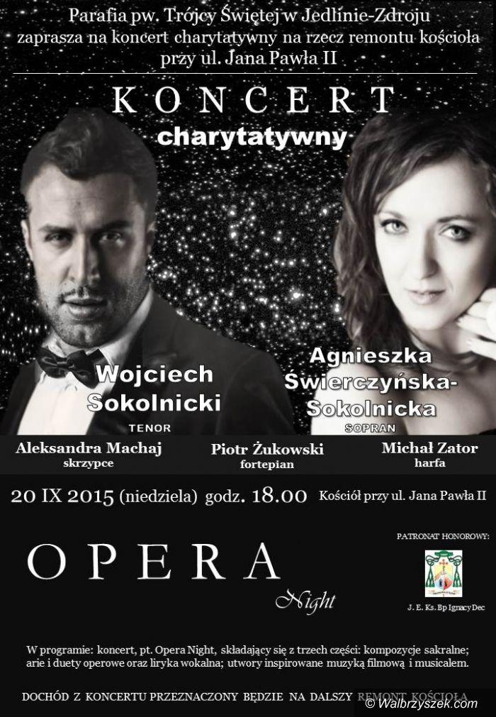 REGION, Jedlina Zdrój: Koncert charytatywny odbędzie się w Jedlinie Zdroju