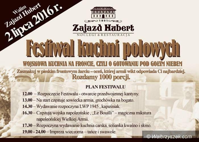 REGION, Walim: Festiwal Kuchni Polowych