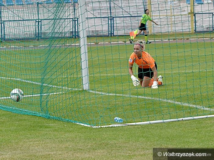 Wałbrzych: Ekstraliga piłkarska kobiet: AZS PWSZ na fali