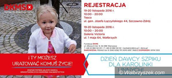 Wałbrzych: Jutro i pojutrze trwać będzie akcja rejestracji dawców szpiku