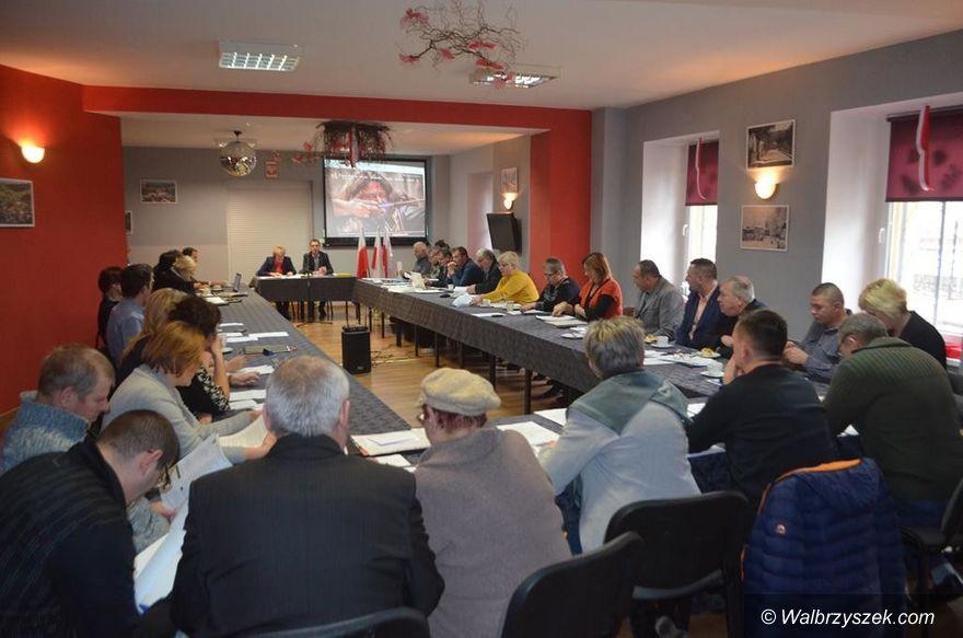 REGION, Walim: Obradowali walimscy radni