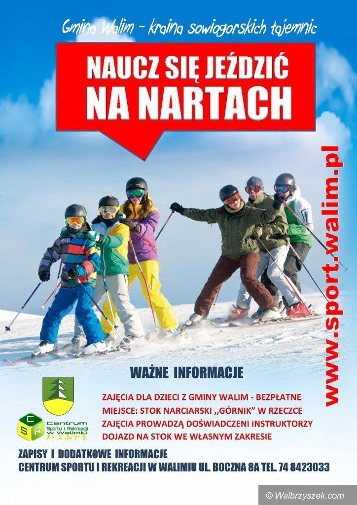 REGION, Walim: Naucz się jeździć na nartach