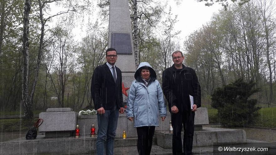 Wałbrzych: Lewica upamiętniła Dzień Zwycięstwa nad faszyzmem