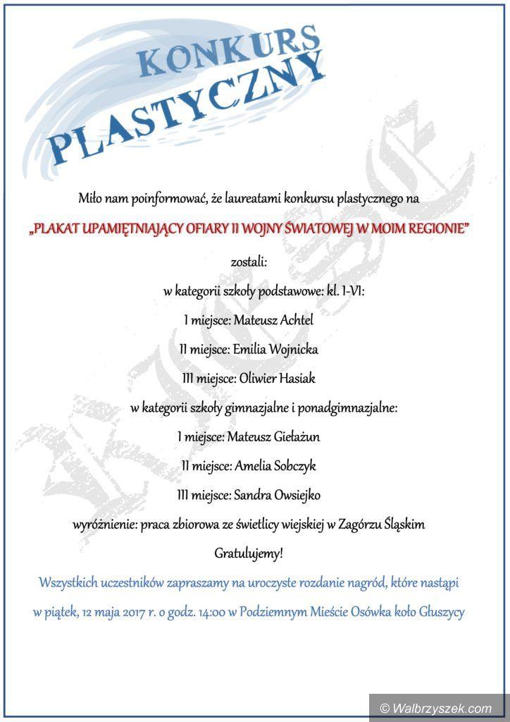 REGION, Walim: Wyniki konkursu plastycznego w gminie Walim