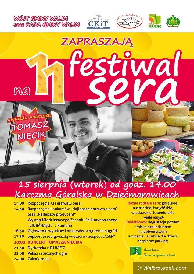 REGION, Dziećmorowice: Gmina Walim zaprasza na XI Festiwal Sera w Dziećmorowicach