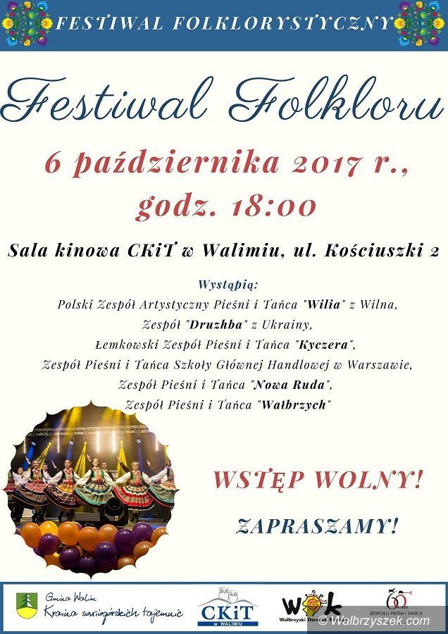 REGION, Walim: Festiwal Folkloru w Gminie Walim