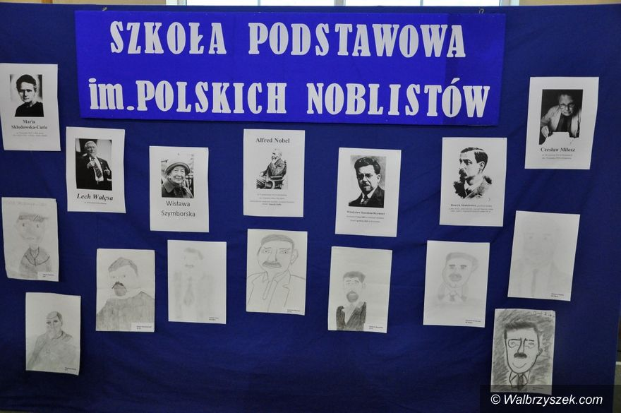 REGION, Walim: Publiczna Szkoła Podstawowa im. Polskich Noblistów w Walimiu ma nowy sztandar