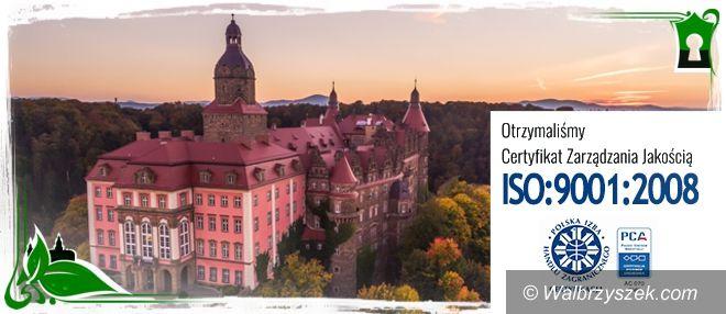 Wałbrzych: Zamek Książ w Wałbrzychu otrzymał Certyfikat Jakości