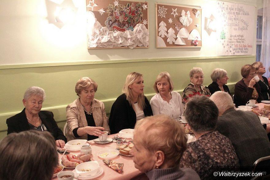 Wałbrzych: Spotkanie wigilijne na Białym Kamieniu
