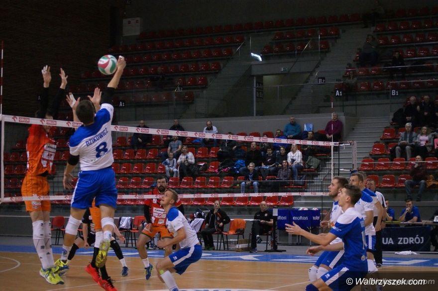 Wałbrzych: Puchar Polski w siatkówce mężczyzn: Rozbici w trzecim secie