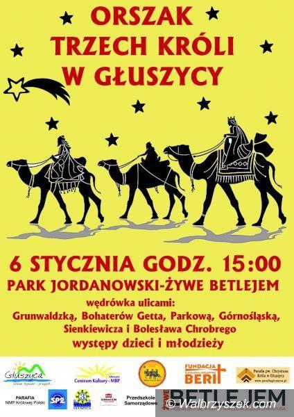 REGION, Głuszyca: Orszak Trzech Króli po raz trzeci w Głuszycy