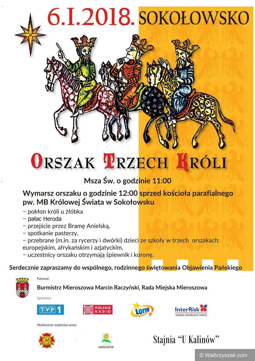 REGION, Sokołowsko: Orszak Trzech Króli przejdzie również przez Sokołowsko