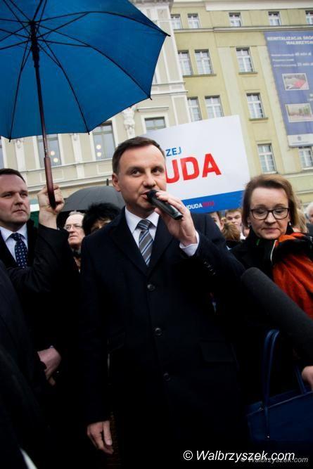 Wałbrzych: Czy prezydent Andrzej Duda przyjedzie do Wałbrzycha na mszę papieską?