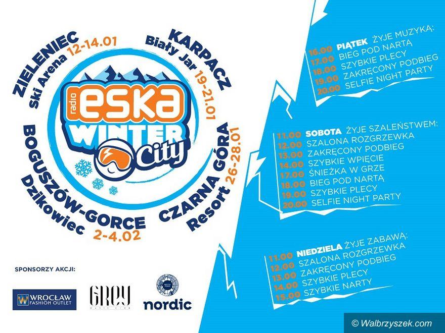 REGION, Boguszów-Gorce: Eska Winter City zawita na Dzikowiec