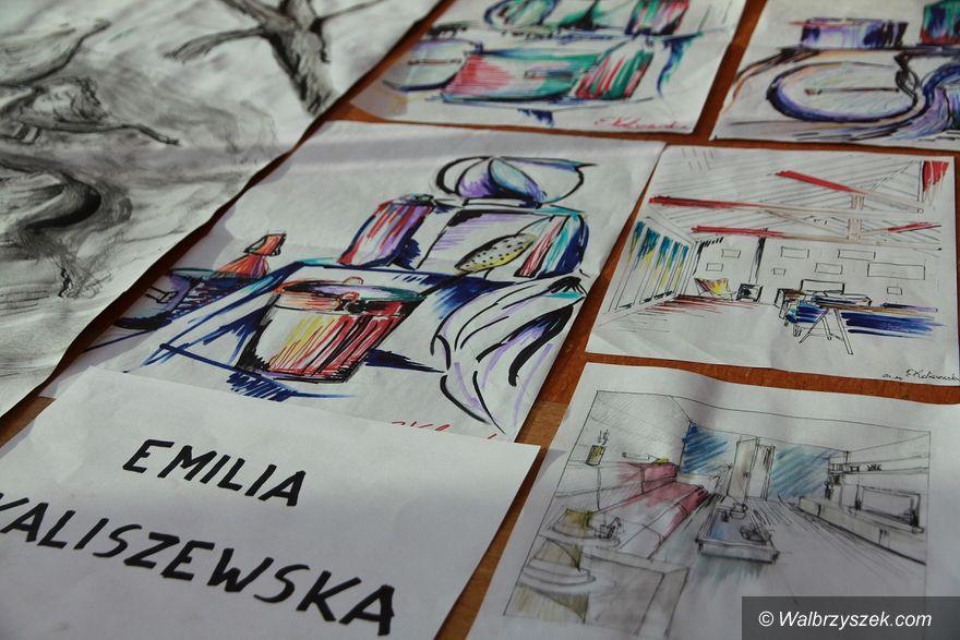 Wałbrzych: Studenci architektury wnętrz zaprezentowali swoje prace